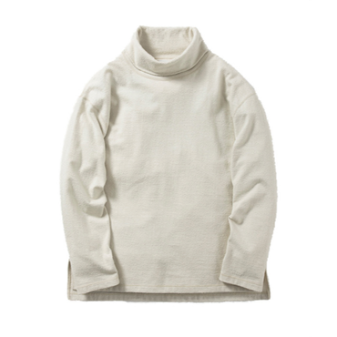 Name. : COTTON NEP INLAY TURTLE NECK L/S TEE