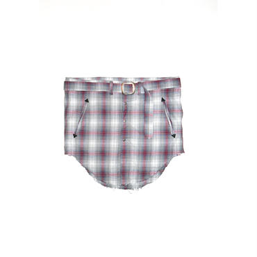The Letters : Flannel Check Wind Shirt