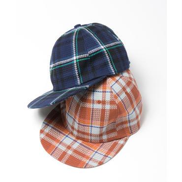 Name. : PLAID COTTON 6-PANEL CAP
