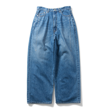 Name. : SELVEDGE DENIM WIDE PANTS