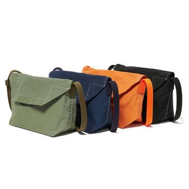 hobo : Cotton Nylon Grosgrain Flap Shoulder Bag