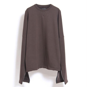 JUHA : SLIT SLEEVE SWEAT