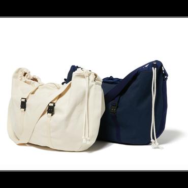 hobo : Cotton Canvas  Shoulder Bag Round