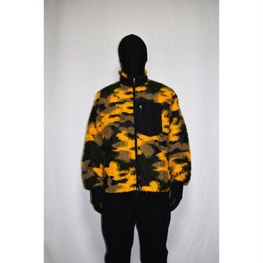 TAAKK : LONG THREAD CAMOUFLAGE BLOUSON