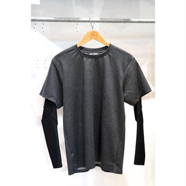 MAINTENANT :REVERCLOTES×HI STRETCH JERSEY L/S LAYER T-SHIRT