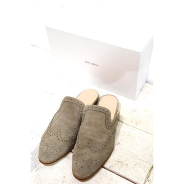 JANE SMITH : FULL BROGUE SLIPPER