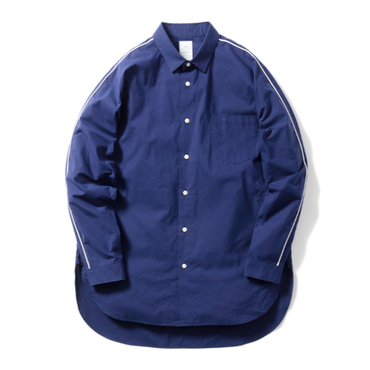 Name. : SILK BROAD DOLMAN SHIRT