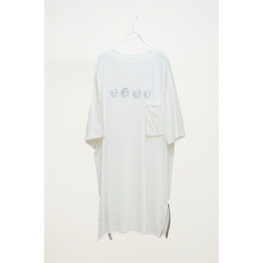 HUMIS : REVERSIBLE NIGHT LONG T-SHIRT