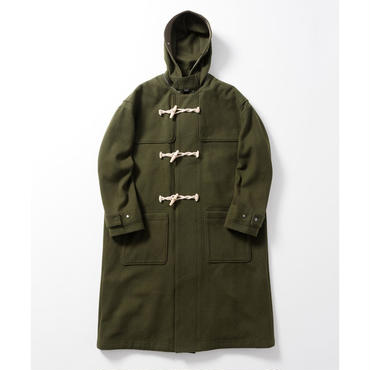Name. : WOOL MELTON DUFFLE COAT