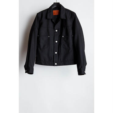 The Letters : Western Work Jacket. -Gabardine-