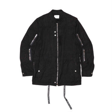 The Letters : Military Zip Jacket - Pin OX -