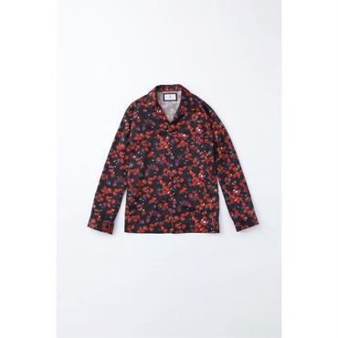 fit MIHARA YASUHIRO : Flower - fall Printed Shirt