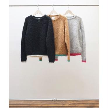 Name. (WOMENS) : MOHAIR CREW NECK SWEATER