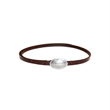 The Letters : 13mm Concho Belt