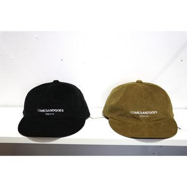 COMESANDGOES : CORDUROY CAP