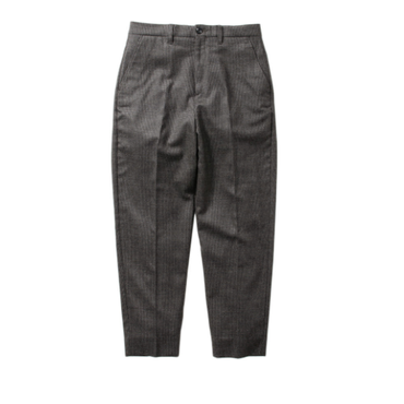 Name. : HANDTOOTH PLAID TAPERED TROUSERS