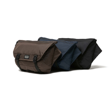 hobo : Polyester Ripstop Messenger Bag with Waterproof Zip