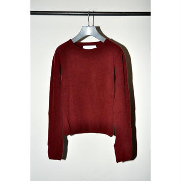 JANE SMITH : CREW NECK P/O KNIT