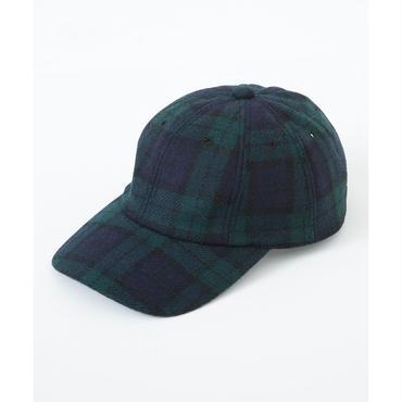 JUHA : 8PANEL WOOL CAP (BLACK WATCH)