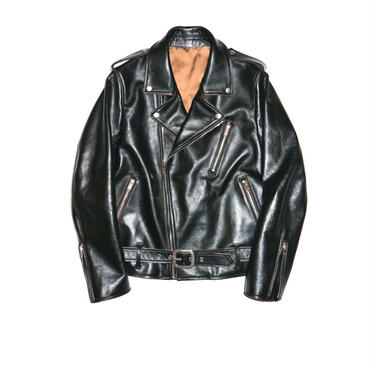 The Letters : Motorcycle Cow Hide Jacket