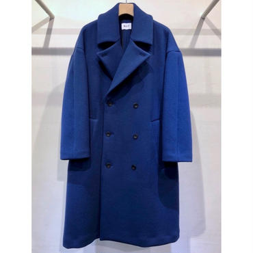 KIIT : WOOL DOUBLE FACE MELTON COAT