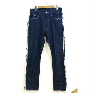 MAINU : Denim Frayed 5PK Pants