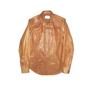 The Letters : Western Leather Shirts