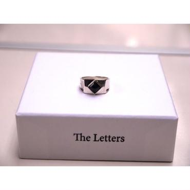The Letters : Cow Boy Stone RING