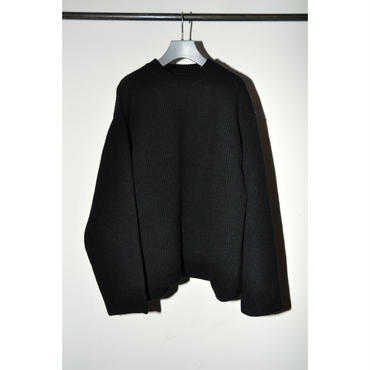 JOHN MASON SMITH : OVER SIZE CREW KNIT