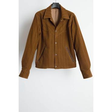 The Letters : Western Short Jacket . -Corduroy Wool-