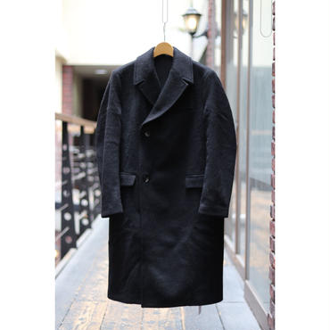 TONSURE : CASHMERE WOOL DOUBLE COAT