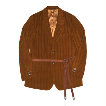 The Letters : Corduroy Single Breasted Jacket