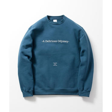 "Name. : ""A Delirious Odyssey"" CREW NECK SWEATER"