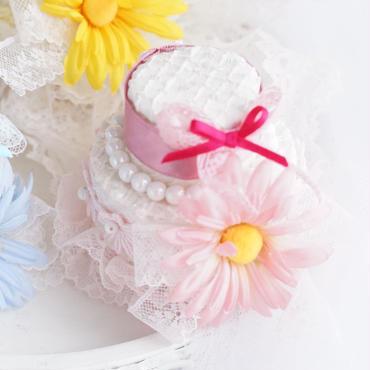 DAISY cake pink