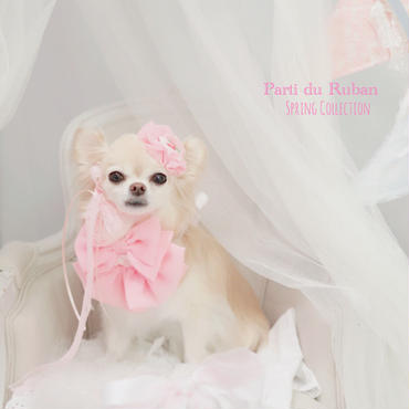 シフォン フルール (ピンク)