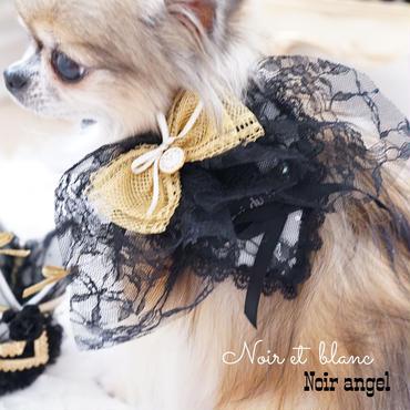 Noir et  blanc♡Noir angel Heart choker