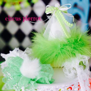 circus pierrot Ruban.green
