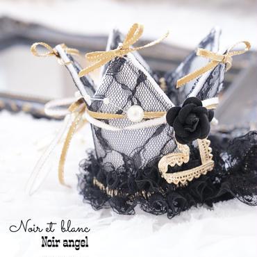 Noir et  blanc♡Noir  angel crown