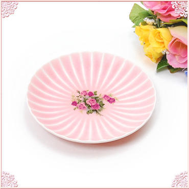 ■プラン・ド・パリ アンジェリカ おもてなし桃シリーズ 霞さくら 14.5cm小皿