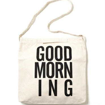 GOOD MORNING 2WAYBAG WHITE