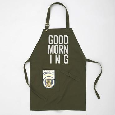 GOOD MORNING STAFF APRON OLIVE