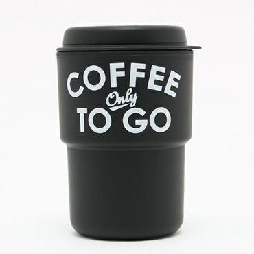 【予約販売】COFFE ONLY TO GO TUMBLER -BLACK-
