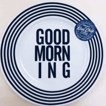 【BLUECHIP】GOOD MORNING PLATE 123mm