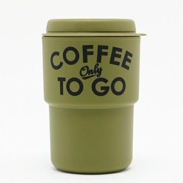 COFFEE ONLY TO GO タンブラー  KAHKI