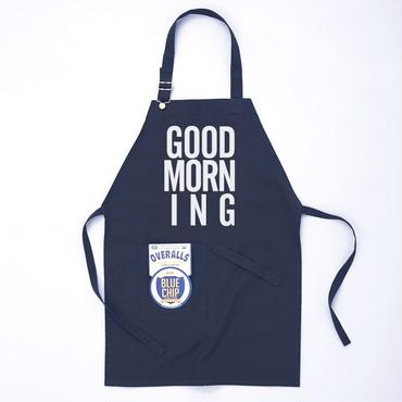 GOOD MORNING STAFF APRON  NAVY