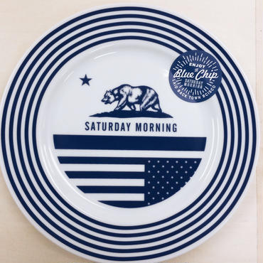 【BLUECHIP】SATURDAY  MORNING PLATE 123mm