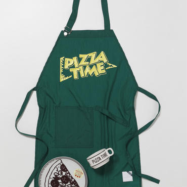PIZZA TIME APRON