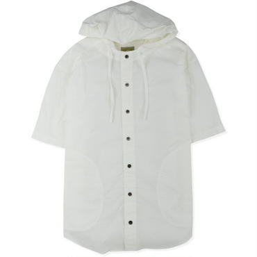 【CYDERHOUSE】SEERSUCKER SHORT SLEEVE SHIRTS(WHITE)