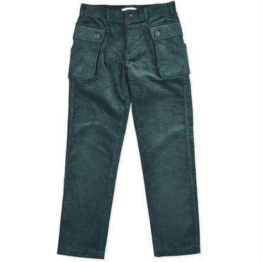 【wisdom】Corduroys Work Pants(GREEN)/ウィズダム コーデュロイワークパンツ(グリーン)
