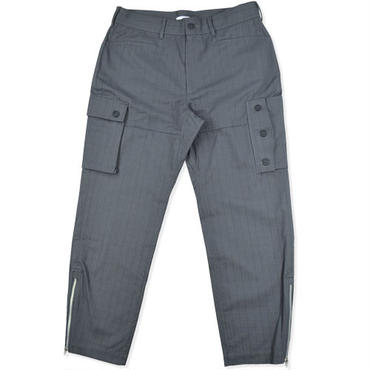 【wisdom】Zip Cargo Pants(GREY)